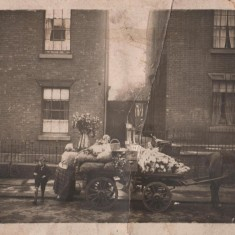 Cooper's Fruit & Vegetable shop delivery cart, c.1900 | Photo: Edward Bell