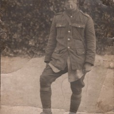 James William Cooper (aged 19) in France, c.1915 | Photo: Edward Bell