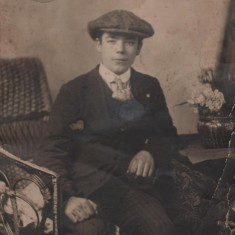 James William Cooper aged around 15, c.1910 | Photo: Edward Bell