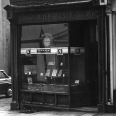 Barratt's Watchmakers, Broomhall Street. 1963 | Photo: Roger Barton