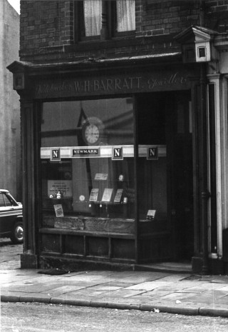 Barratt's Watchmakers, Broomhall Street. 1963 | Photo: Roger Barton