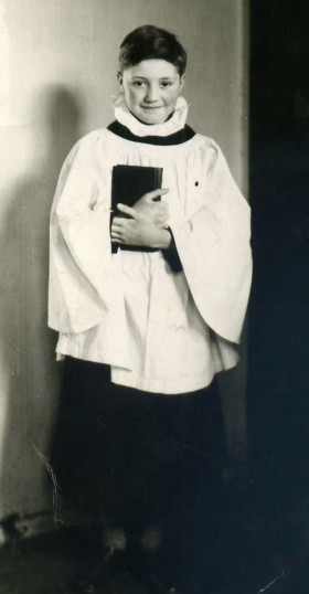 St Silas choir boy 1958 | Photo: Roger Barton