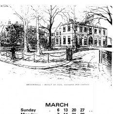 Broomhall Calendar 1983. March: page 1 of 2 | Photo: Mike Fitter