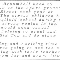 Broomhall Calendar 1983. April: page 3 of 4   Photo: Mike Fitter