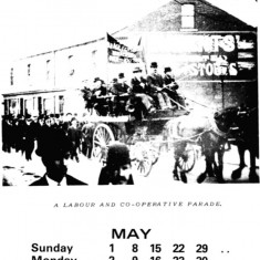 Broomhall Calendar 1983. May: page 1 of 3   Photo: Mike Fitter