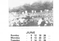 The Broomhall Calendar 1983: June ~ Community