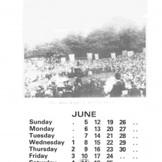 Broomhall Calendar 1983. June: page 1 of 3 | Photo: Mike Fitter