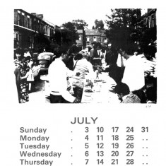 Broomhall Calendar 1983. July: page 1 of 3 | Photo: Mike Fitter