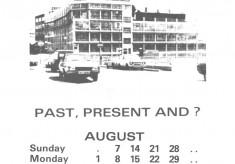 The Broomhall Calendar 1983: August ~ Viners