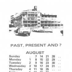 Broomhall Calendar 1983. August: page 1 of 2 | Photo: Mike Fitter