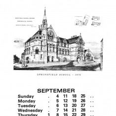Broomhall Calendar 1983. September: page 1 of 3 | Photo: Mike Fitter