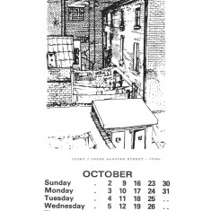 Broomhall Calendar 1983. October: page 1 of 3 | Photo: Mike Fitter