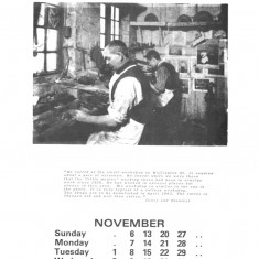 Broomhall Calendar 1983. November: page 1 of 3 | Photo: Mike Fitter