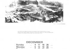 The Broomhall Calendar 1983: December ~ War & Peace