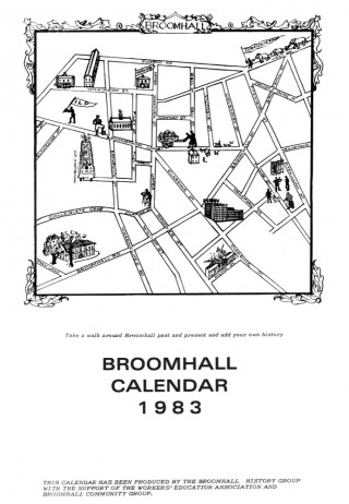 Broomhall Calendar 1983. Front cover | Image: Mike Fitter