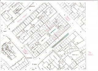Elsie's annotated map of Broomhall Streets around Hodgson Street | Photo: Our Broomhall