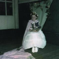 Andrea Sawdon, May Queen 1960 | Photo: Andrea Lee