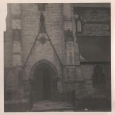 Entrance to St Silas Church, 1966 | Photo: Lynn Pearson