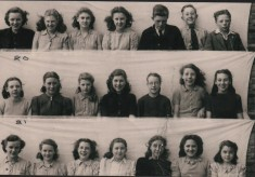Springfield School Class photographs: 1947