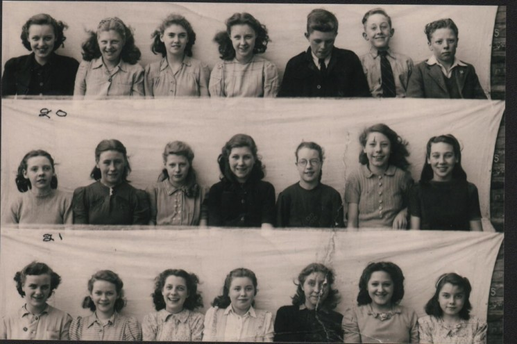 Springfield School: Class of 1947 | Photo: Maureen Brown
