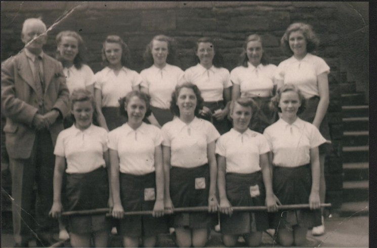 Springfield School Rounders Team, 1947 | Photo: Maureen Brown