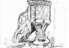Phil Lockwood's Artistic Reflections of St Silas Church