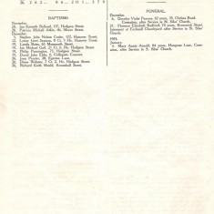 St Silas Parish Magazine: Page 6. January 1955 | Image: Pat Collins
