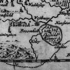 1695 West Riding of Yorkshire Map by Robert Morden | Map: SALS