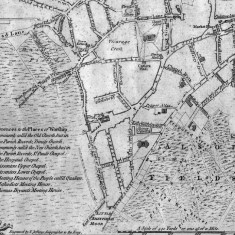 1771 Sheffield Map by William Fairbank | Map: SALS
