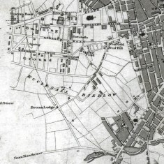1823 Sheffield Map by John Leather | Map: SALS