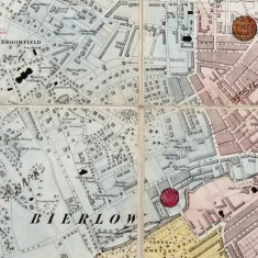1864 Map of Sheffield | Map: SALS