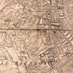 1873 Sheffield Map based on the 1850 Ordnance Survey, with revisions to 1873 | Map: SALS