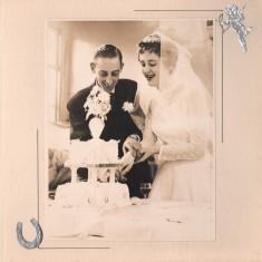 Malcolm and Josie Moore wedding reception.1960 | Photo: Josie Moore