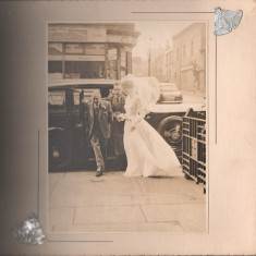 Josie Moore on her wedding day, St Silas Church 1960. Webster's shop in the background | Photo: Josie Moore