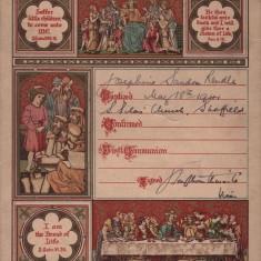 Josephine Rendle Baptism Certificate. 1941 | Photo: Josie Moore