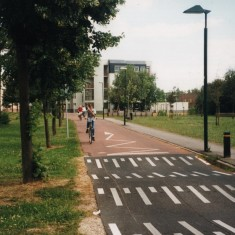 Best practice for roads in Denmark, 1990s | Photo: Broomhall Centre