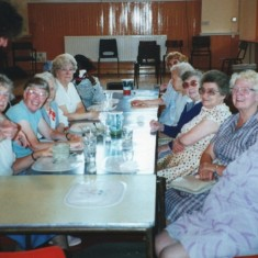 Pensioners enjoying lunch at the Broomhall Centre. Possibly early 1990s | Photo: Broomhall Centre