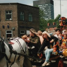Broomhall Carnival. 1980s | Photo: Broomhall Centre