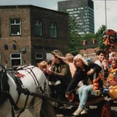 Broomhall Carnival. 1980s   Photo: Broomhall Centre