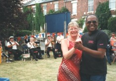 Dancing at the carnival