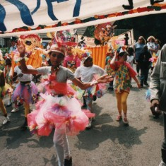"Carnival Queen and procession: ""One World"" Carnival. 1994 