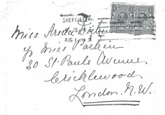 The Dickinson Family of Broomhall Place: Letter 1