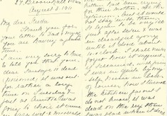 The Dickinson Family of Broomhall Place: Life at No. 27 ~ 3rd Aug 1911