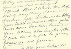 The Dickinson Family of Broomhall Place: Life at No. 27 ~ 8th Aug 1911