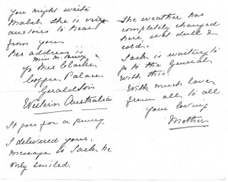 Dickinson letter 5: 22nd August 1911. Page 2 | Photo: Judith Gaillac