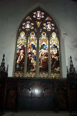 East Window St. Silas Church, 2013 | Photo: Richard Bakewell