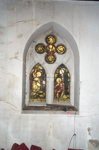 Window on North East Nave wall, St Silas Church. 2013 | Photo: Richard Bakewell