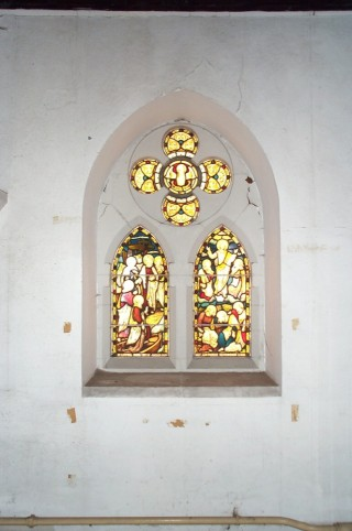 Window on South East Nave wall, St Silas Church. 2013 | Photo: Richard Bakewell
