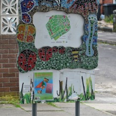 Mosaic on Holberry Gardens, 2014 | Photo: OUR Broomhall