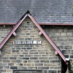 Brunswick Street sign, 2014 | Photo: OUR Broomhall